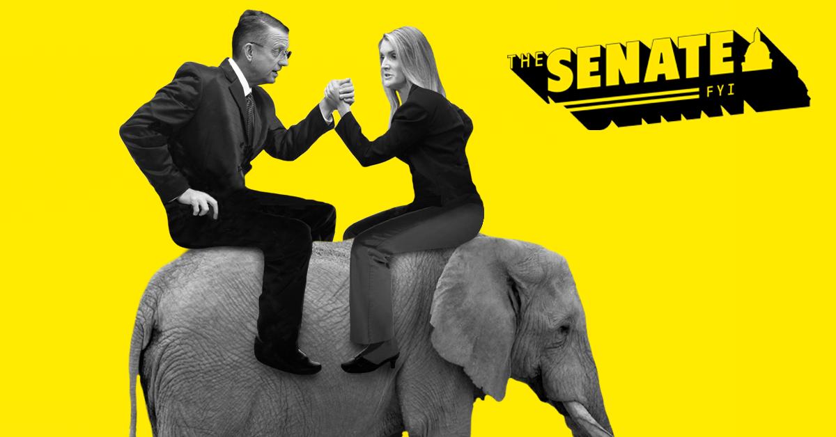 The Senate FYI: It's huntin' season down in Georgia