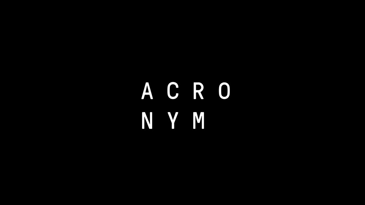 ACRONYM's Next Chapter